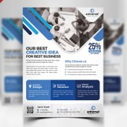 Corporate Business Free Flyer PSD