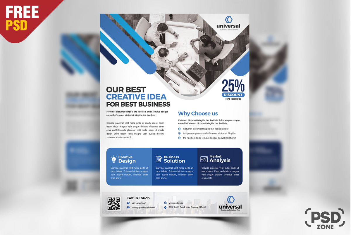 Fein Kostenlose Flyer Vorlage Psd Galerie - Entry Level Resume ...