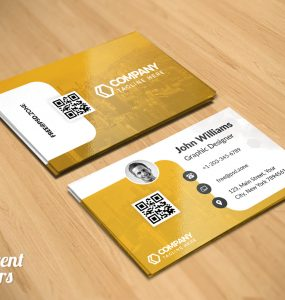 Free Business Card PSD Set