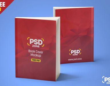Realistic Book Mockup Free PSD