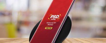 Samsung S9+ Mockup Free PSD