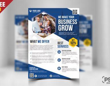 Business Flyer Free PSD Bundle