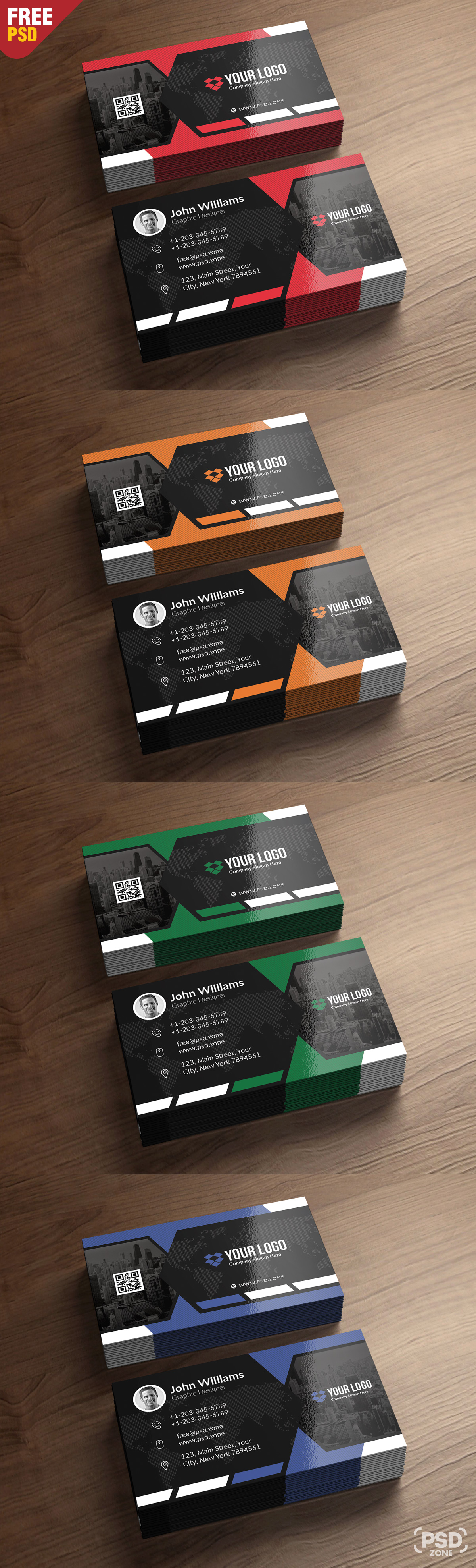 Premium business card templates free psd psd zone premium business card templates free psd accmission Image collections