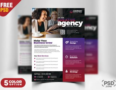 Business Advertisement Flyer PSD Templates