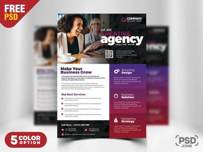 Business Advertisement Flyer PSD Templates