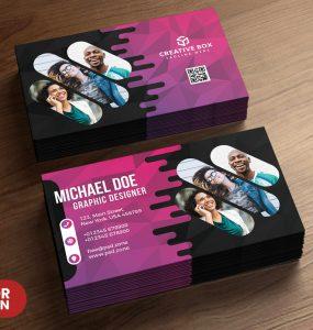 Creative Business Card PSD Templates