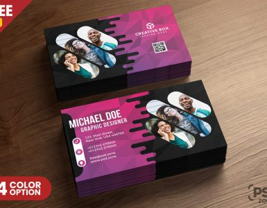 Creative Business Card PSD Templates