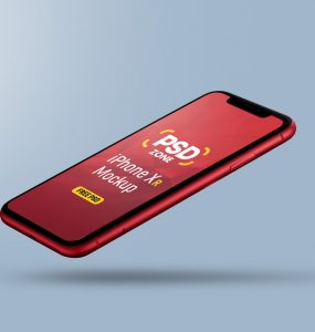 Free iPhone Xr Mockup PSD