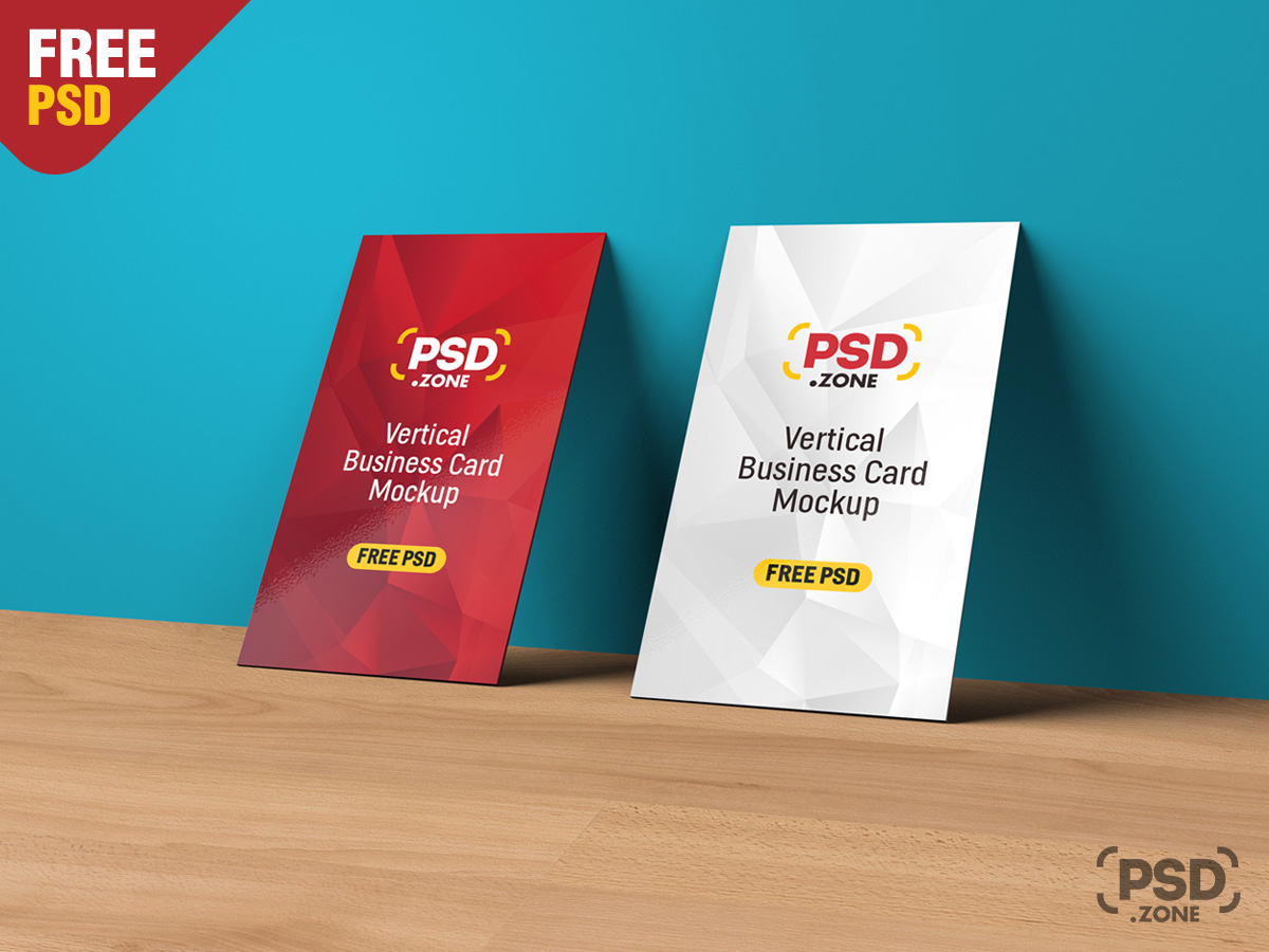 Vertical business card mockup psd psd zone vertical business card mockup psd colourmoves