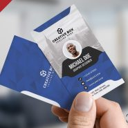 Corporate Business Card PSD Templates