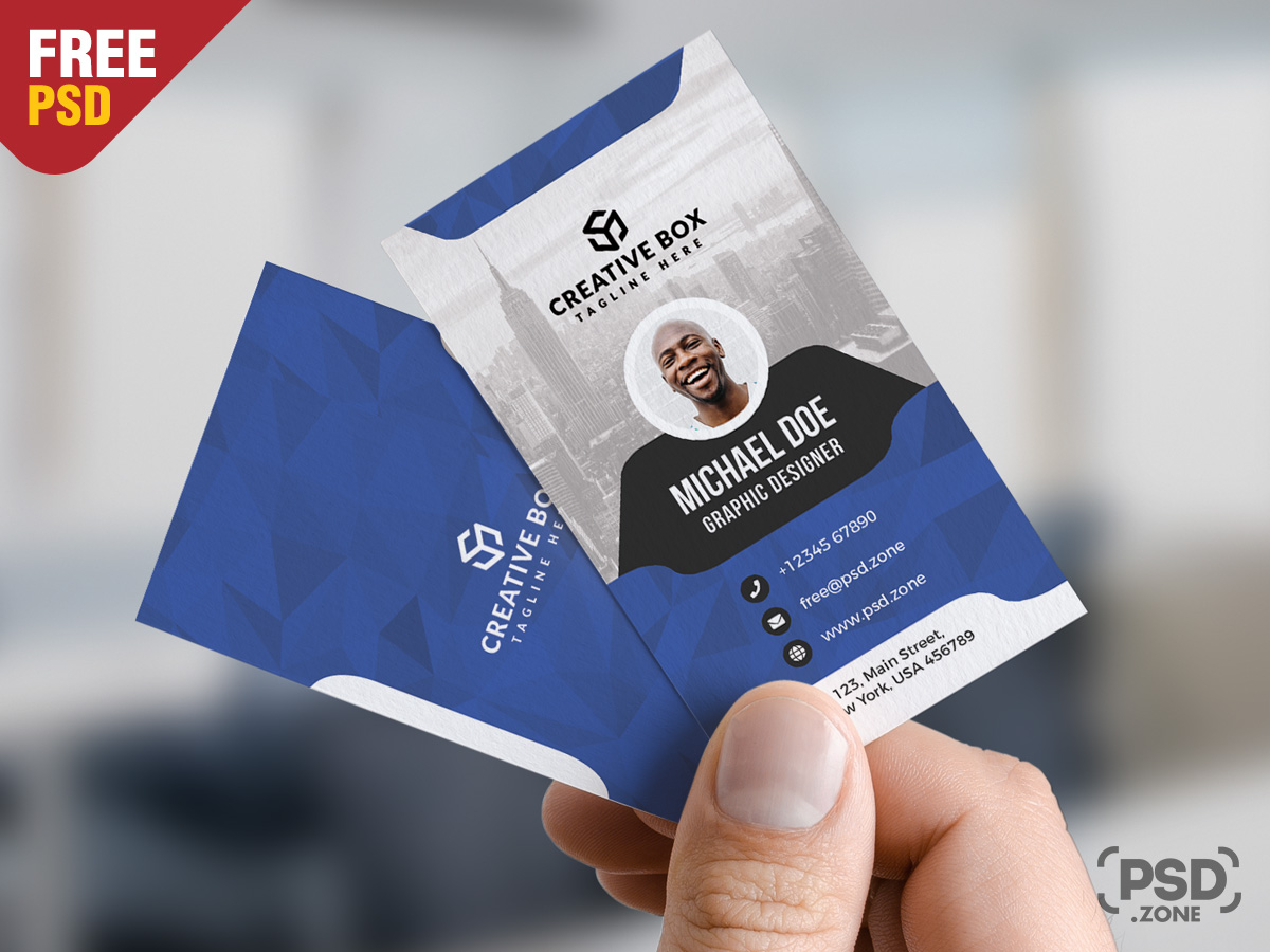 Corporate business card psd templates psd zone corporate business card psd templates accmission Gallery