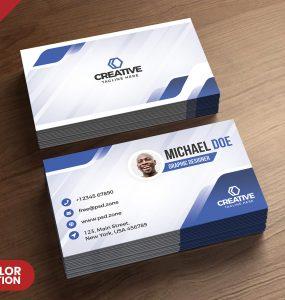 Modern Business Cards Design PSD