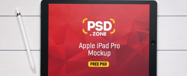 Apple iPad Pro Mockup Free PSD