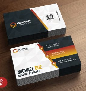 Business Card Design Templates PSD