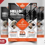 Creative Business Flyer Design PSD