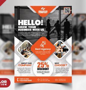 Creative Business Flyer Designs PSD