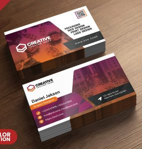 Corporate Business Card Designs PSD