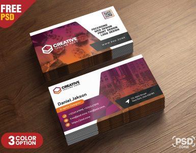 Corporate Business Card Designs PSD
