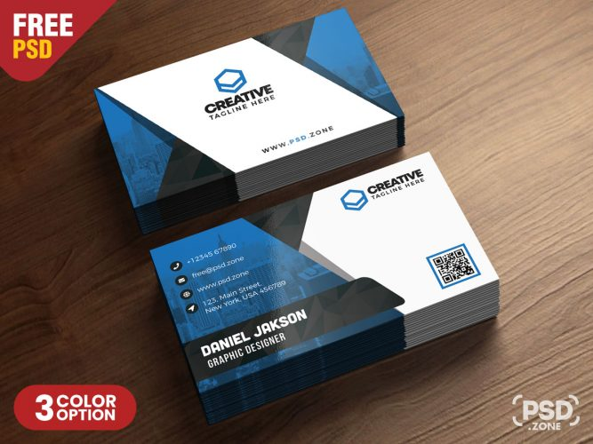 Multipurpose Business Card Design PSD