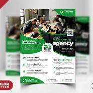 Corporate Business Flyer PSD Templates