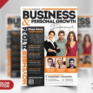 Business Seminar AD Flyer PSD