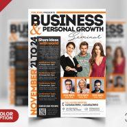 Business Seminar AD Flyer PSD