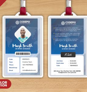Corporate Identity Card PSD Template