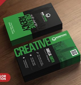 Creative Vertical Business Card PSD