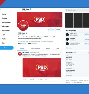 New Twitter Post Mockup 2019