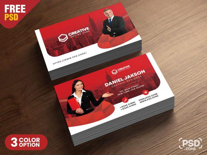 Multipurpose Business Card PSD Template