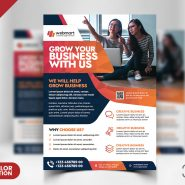 A4 Size Corporate Flyer PSD