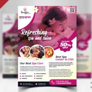 Beauty Salon Roll Up Banner Psd Psd Zone