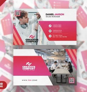 Modern Business Card Design PSD Templates
