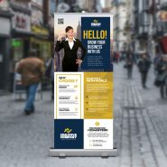 Corporate Business Roll Up Banner PSD