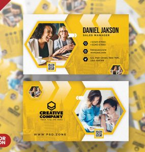 Awesome Creative Business Card PSD Templates
