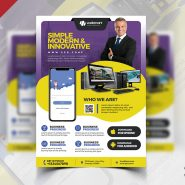Multipurpose Corporate Business Flyer PSD