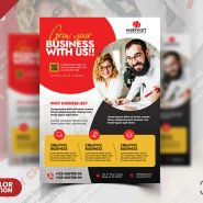 Business Flyer Design PSD Template