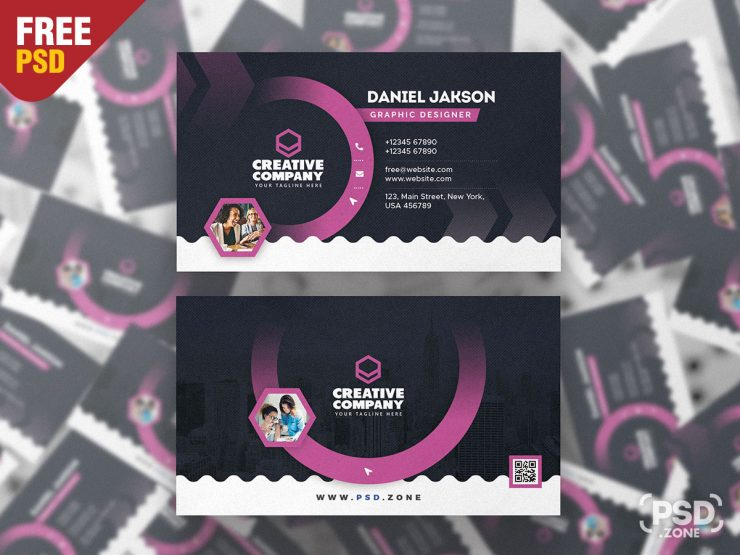 Creative and Designer Business Card PSD