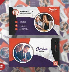 Designer Creative Business Card PSD Template