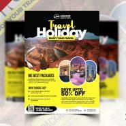 Travel Agency Promotion Flyer PSD