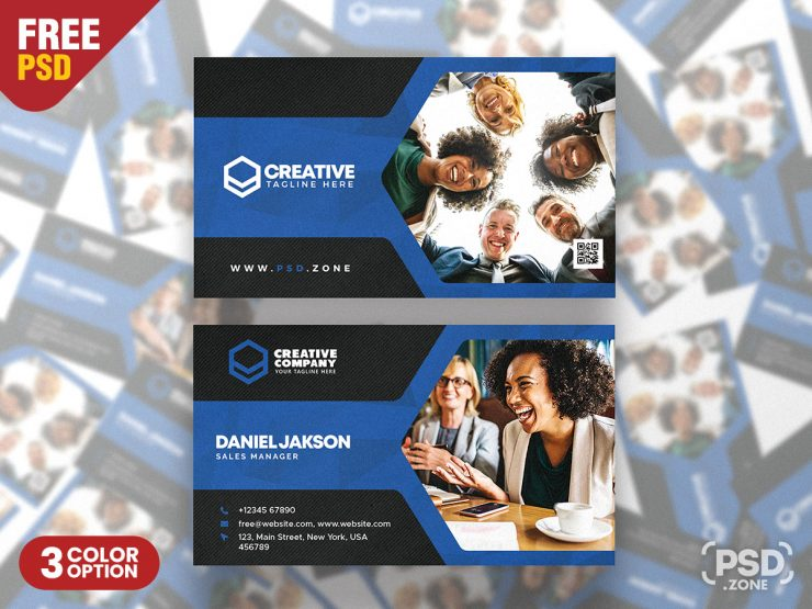 Multipurpose Modern Corporate Business Card PSD