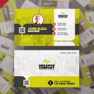 Modern Designer Business Card PSD