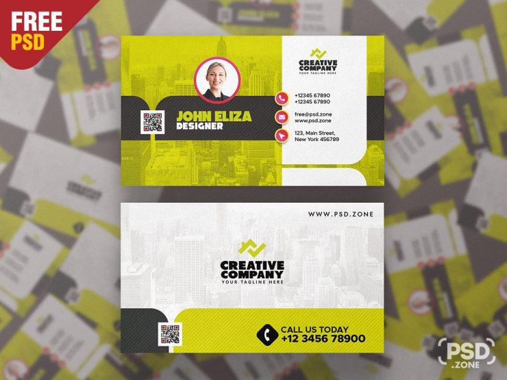 Modern Designer Business Card PSD