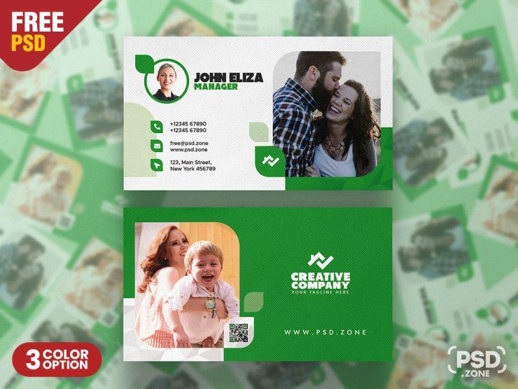 Designer and Modern Business Card PSD Bundle