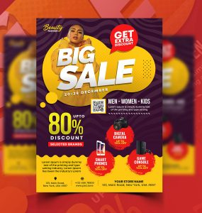 Season Special Sale Flyer PSD Template