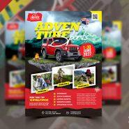 Adventure Tour Flyer PSD Template