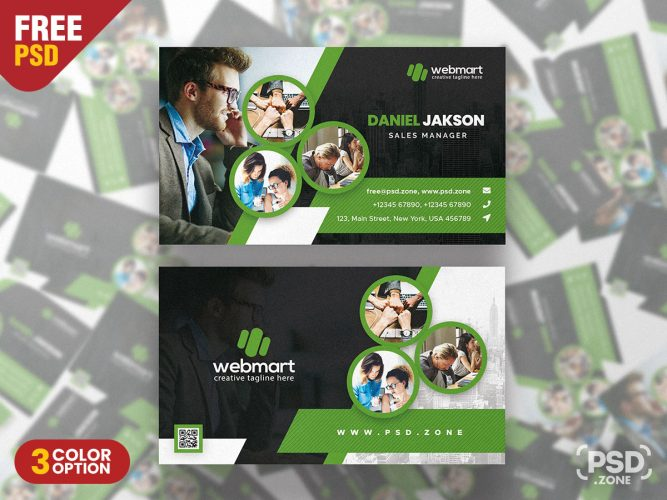 Multipurpose Designer Business Card PSD