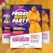 Best Club Party Flyer PSD Template