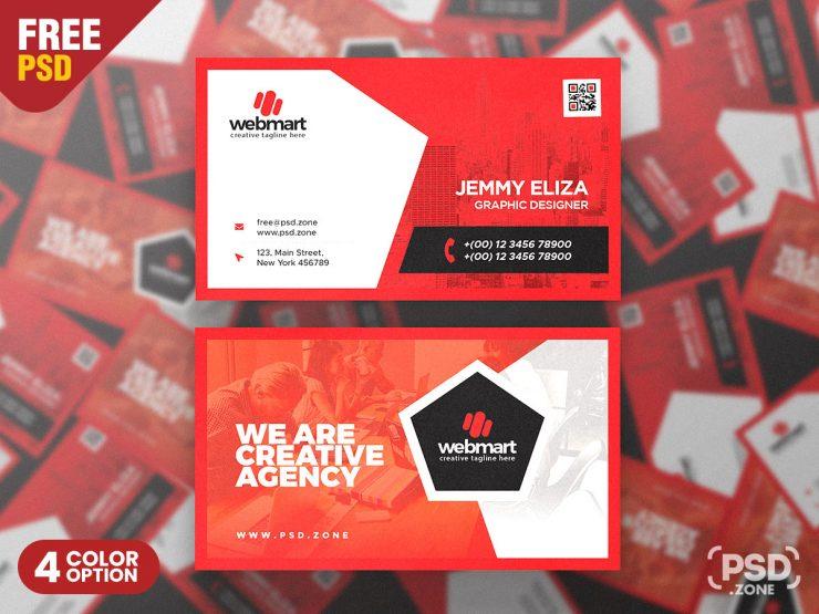 Multipurpose Designer Business Card PSD Template