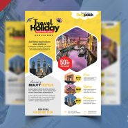 Holiday Packages Advertisement Flyer PSD